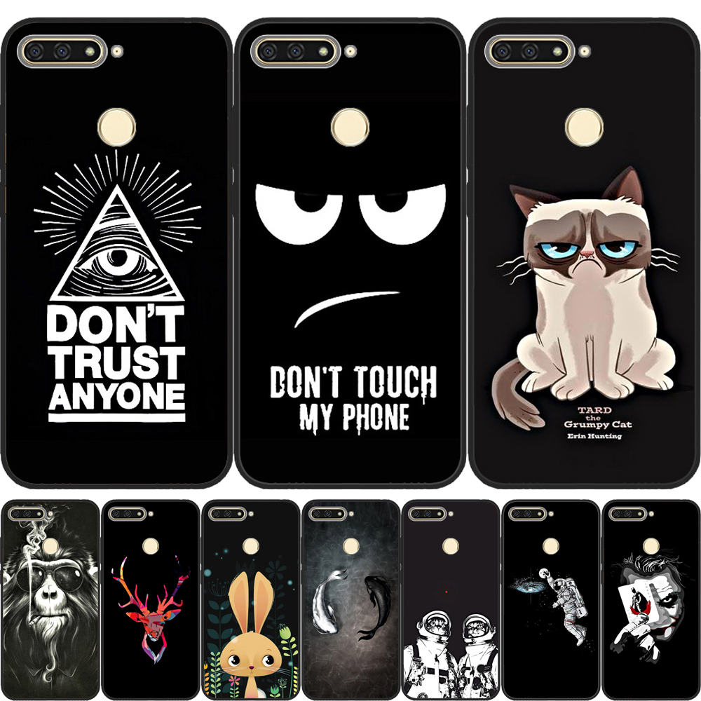 Cover Silicone Coque Pro-Case Huawei Honor Prime For Pro/y6 7A