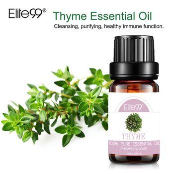 Elite99 10ml Natürlichen Ätherischen Ölen Schwarz Pfeffer Ätherisches Öl für Haut Pflege Luftbefeuchter Duft Thymian Reinigung Ätherisches Öl
