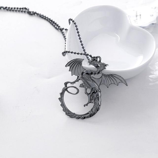 Daenerys Targaryen Dragon Pendant 4