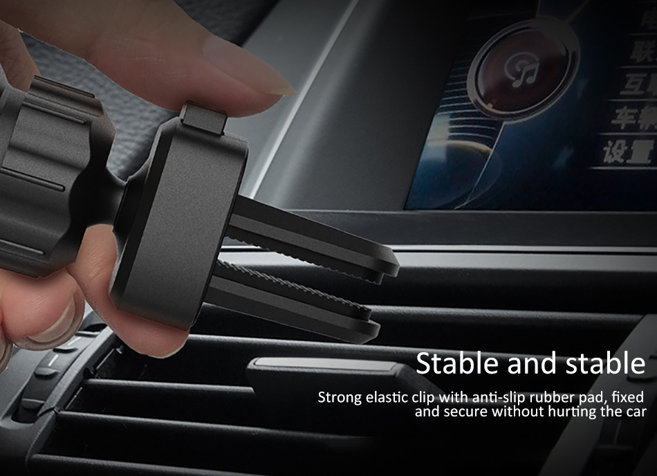 !ACCEZZ 360 Air Vent Mount For Huawei P20 iPhone 8 7 6 6s Plus Xiaomi 5 Samsung S8 S9 Degree Adjustable Gravity Car Phone Holder (11)