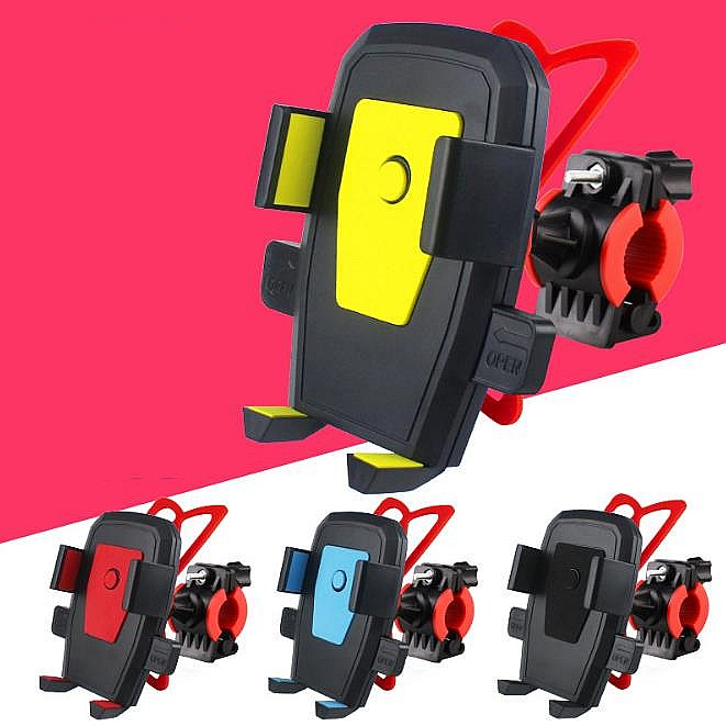 Funda deportiva móvil Bicicleta Bicicleta Cubierta del teléfono para iPhone 5S 6S Plus Samsung S7 S6 edge S4 Mountain autocycle Accessaries Equipment