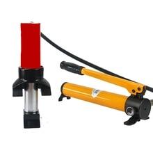 Гидравлическая дробилка дверей, инструменты для разбивания дверей, инструменты для открытия дверей автомобиля, спасательные Гидравлические пожарно-спасательные инструменты 100KN с ручным насосом