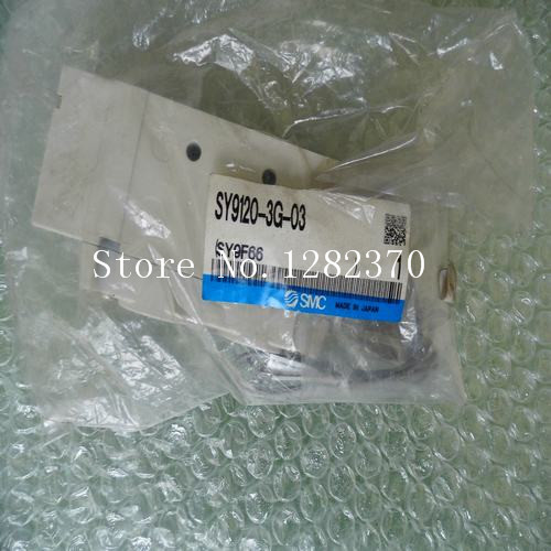 [SA] New Japan genuine original SMC solenoid valve SY9120-3G-03 spot --2PCS/LOT [sa] new japan genuine original smc solenoid valve vqz2121 5lb1 c6 spot