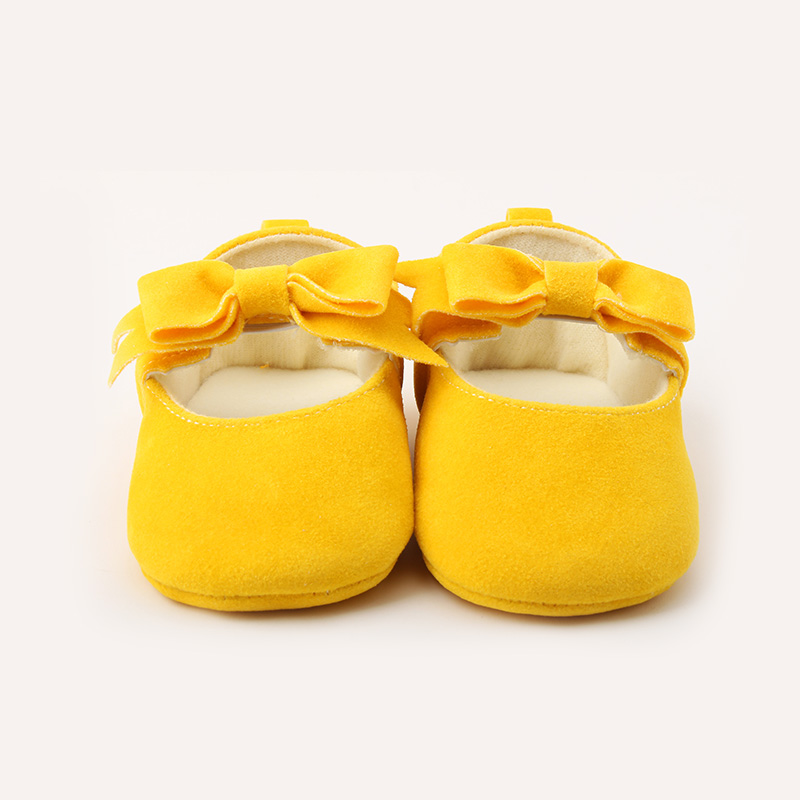 Unique Cute Polka Newborn Infant Toddler First Walkers Butterfly-knot Design Princess Baby Shoes For 0-15 Months Baby Save Shoes