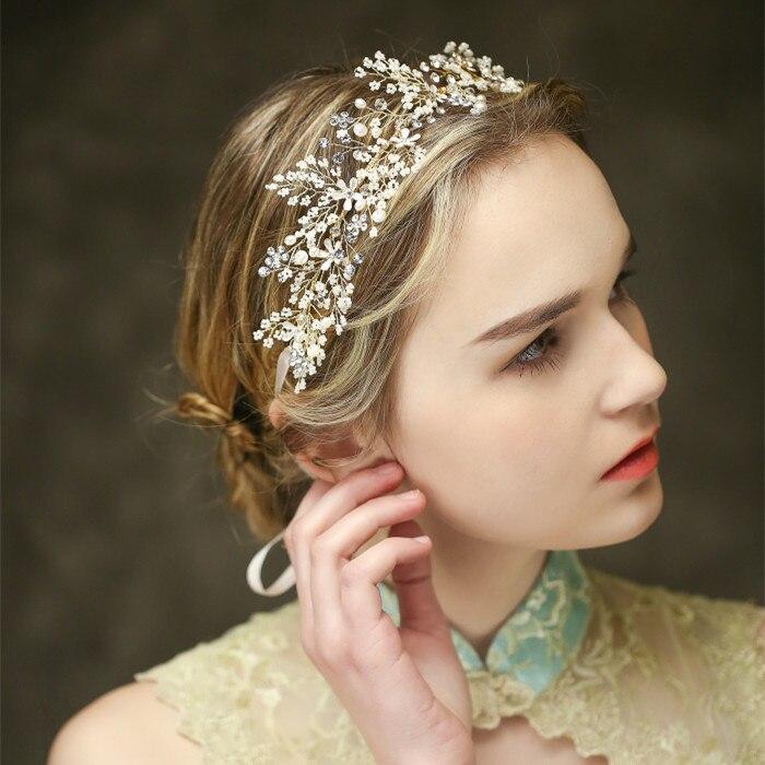 White Flower For Hair Wedding: 100% Handmade Fashion Headbands Wedding Bridal Bride Hair