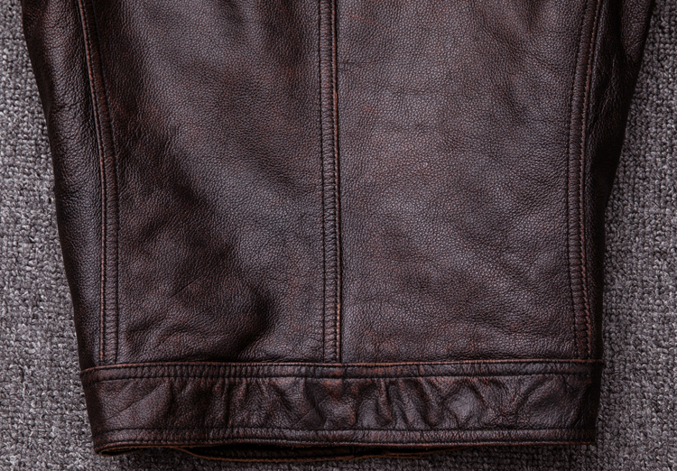 HTB1BfyKlrZnBKNjSZFKq6AGOVXa7 MAPLESTEED Brand Vintage Leather Jacket Men 100% Cowhide Red Brown Black Natural Leather Jackets Men's Leather Coat Autumn M174