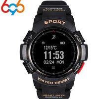 696 F6 Smart Watch IP68 waterproof Smartwatch GPS Pedometer Heart Rate Monitor Fitness Tracker Message Reminder PK F5 kw18