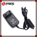 EU Raspberry Pi 3 B+ Power Supply 5V 3A Switch Button Micro USB Power Charger Adapter Plug for Raspberry Pi 3 Model B+