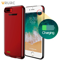 Vrurc Battery Charger Case For iPhone 6 7 8 Battery Power Bank Case For i6 i7 i8 Plus Battery Case Mobile Phone Powerbank Case