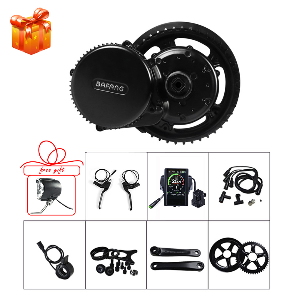 Ebike Bafang BBS02B 36V 500W Mid Motor Kits E bike Mid Crank Motor Conversion kit With