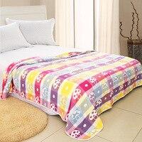 มัสลิน100%ผ้าฝ้ายอินทรีย์นุ่มสบายปลอดภัยผ้าห่มผ้าคลุมเตียง