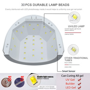 Image 2 - SAMVI Sunone 30PCS UVLED 48W LED UVเล็บเจลเล็บการบ่มได้อย่างรวดเร็วโคมไฟเล็บเครื่องเป่าเล็บArtเครื่อง