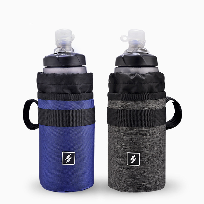SAHOO 112009 Bicycle Handlebar Water Bottle Polyester Bag Cup Holder for Cycling