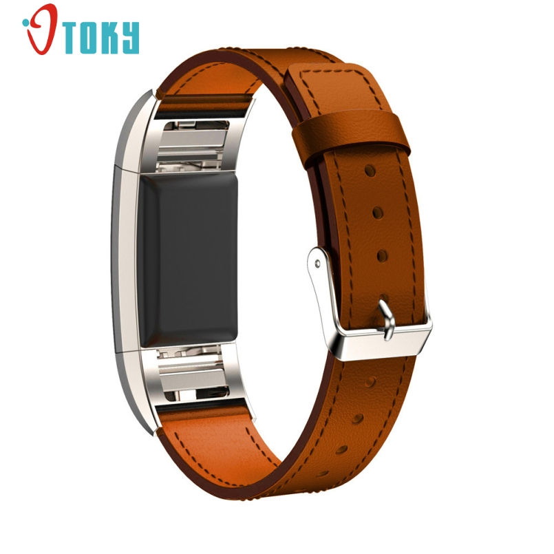 New Arrive Watchband For Fitbit Alta Genuine Leather Watch Band Strap Bracelet For Fitbit Alta Charge 2 Band Strap