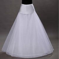 A Line Tulle Petticoat Đen White Wedding Bridal Petticoat Lót Crinolines cho Váy Cưới jupon Phụ Kiện Đám Cưới