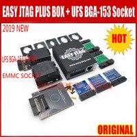 2019 New version original Full set Easy Jtag Plus EMMC Socket + Easy Jtag Plus UFS BGA 153 Socket Adapterv