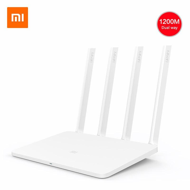 Original Xiao mi Router WiFi inalámbrica 3G de banda Dual 2,4g/5G Wifi extensor 1167 Mbps USB 3,0, 256 MB de RAM admite mi Wifi remoto APP