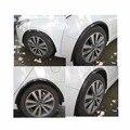Колеса автомобиля бровь отделка стикер Стайлинг Погонаж для всех производителей автомобилей модификация углеродного волокна колеса бровь заднее крыло наклейки