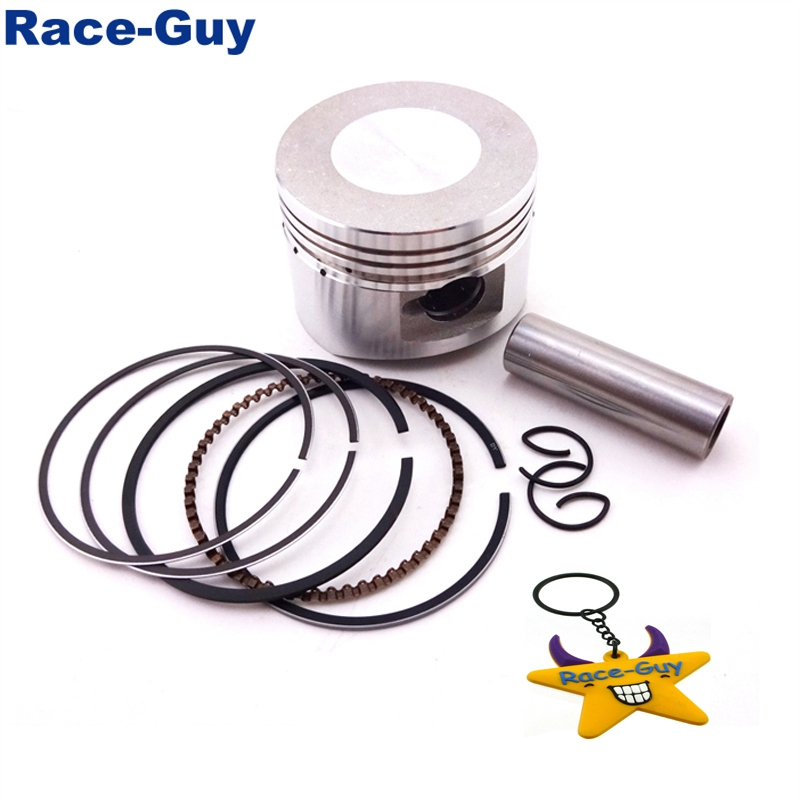 United 52.4mm 13mm Pin Piston Rings Kit 110cc 125cc Engine Quad Dirt Bike Atv Buggy Non-Ironing Automobiles & Motorcycles