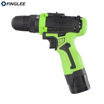 FINGLEE 18 V Max Electric Screwdriver Cordless Drill Mini Wireless Power Driver DC Lithium-Ion Battery