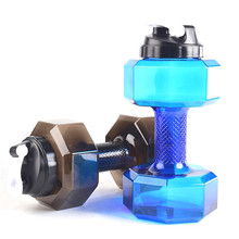 1PC 2.2KG Water Dumbbells Fitness Gym Women Comprehensive Exercise Equipment Slimming Body Arm Aquatic Barbell