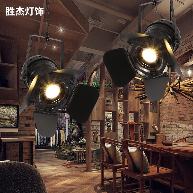retro LED iron Pendant lamp, industrial wind four-leaf track lamp, bar, exhibition hall, restaurant led pendant lampretro LED iron Pendant lamp, industrial wind four-leaf track lamp, bar, exhibition hall, restaurant led pendant lamp