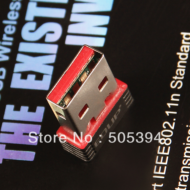 Free shipping EDUP Mini Wireless N 11n Wi-Fi USB Adapter Dongle for Nano #8060