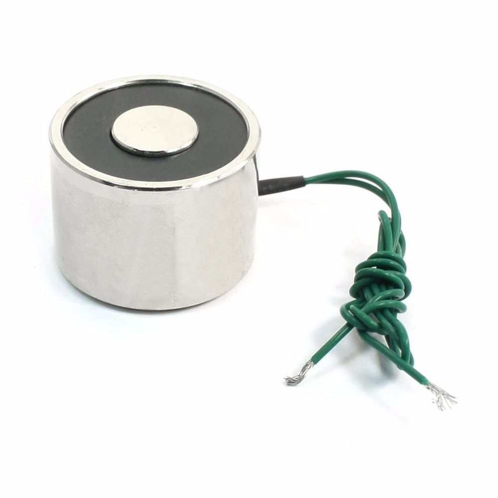 XRN-XP30*22 Wired Electric Electromagnet Solenoid, Lift Holding, DC 12V, 24V 5W, 22 Lb.