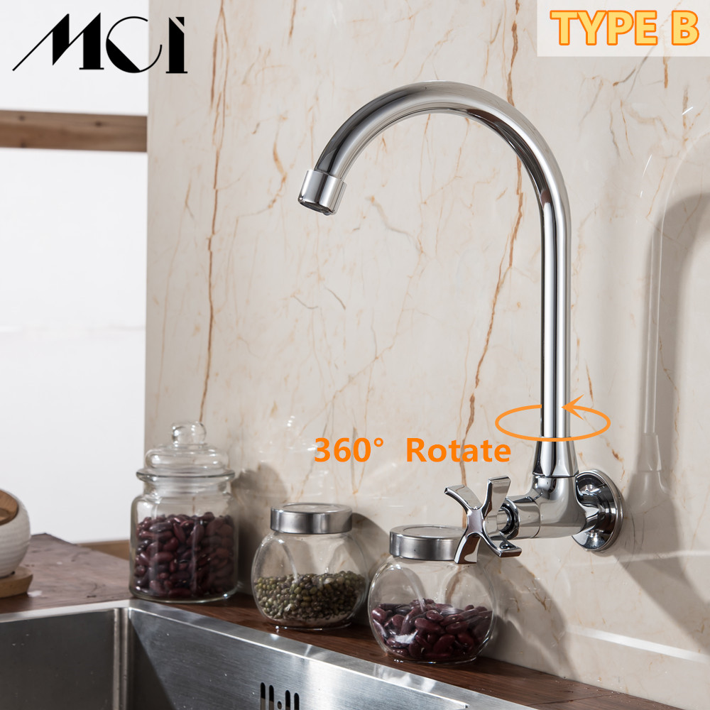 Stream Spray Bubbler Bathroom Kitchen Faucet Wall Mounted Single Hole Single Cold Water Flexible Pipe Kitchen Mixer Torneira Mci Kitchen Faucets Aliexpress
