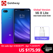 Global Version Xiaomi Mi 8 Lite 4GB RAM 64GB ROM Mobile Phone Snapdragon 660 Octa Core 24MP Front Camera 6.26″ 19:9 Notch Screen