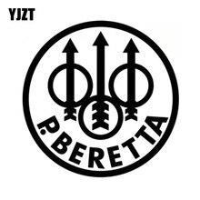 YJZT 15X15CM BERETTA Firearms Gun Rights Car-styling Car Sticker Vinyl Decals S8-0048