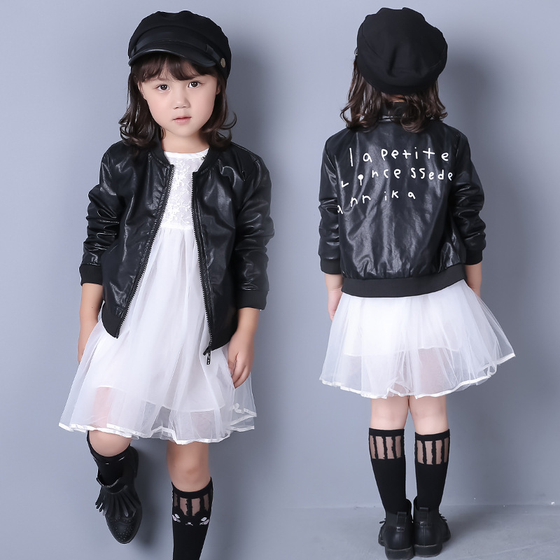 Leather jackets for kids on sale