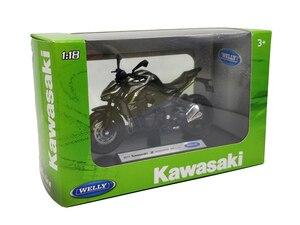 Image 2 - Welly 1:18 Kawasaki NINJA Z 1000R 2017 Diecast אופנוע