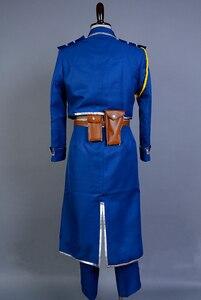 Image 4 - FullMetal Alchemist Cosplay Roy Mustang Cosplay Uniform Halloween Party Costumes