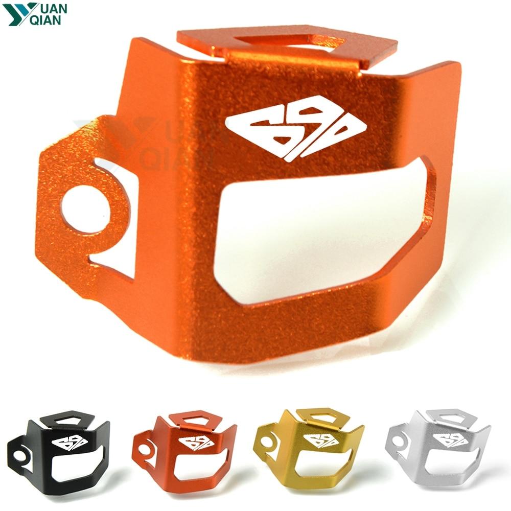 For KTM 690 DUKE Motorcycle Rear Brake Fluid Reservoir Guard Cover Protect duke
