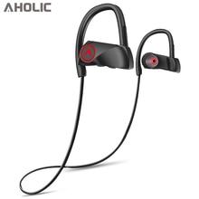D200 אלחוטי אוזניות Bluetooth אוזניות IPX7 עמיד למים ספורט צווארון אוזניות רעש ביטול סטריאו אוזניות לxiaomi