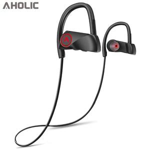 Image 1 - D200 Wireless Earphones Bluetooth Headphone IPX7 Waterproof Sports Headset Neckband Noise Canceling Stereo Earphones for xiaomi