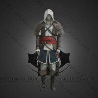 2018 горячие аниме Assassin's Creed 4 Black Flag Einheit Арно Виктор Дориан Косплэй Сац Nach карнавальный костюм Assassins Creed Арно
