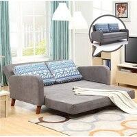 260309/1.7 m Home multi function sofa / foldable double use sofa /High foam foam sponge/Comfortable pillow