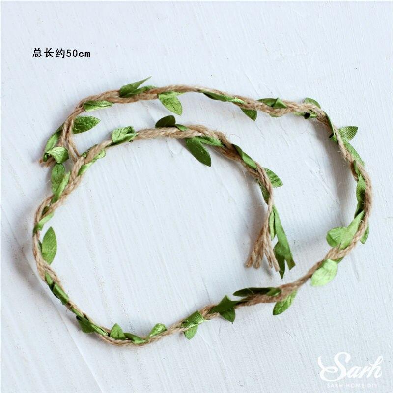 2PC 0.5m leaf string