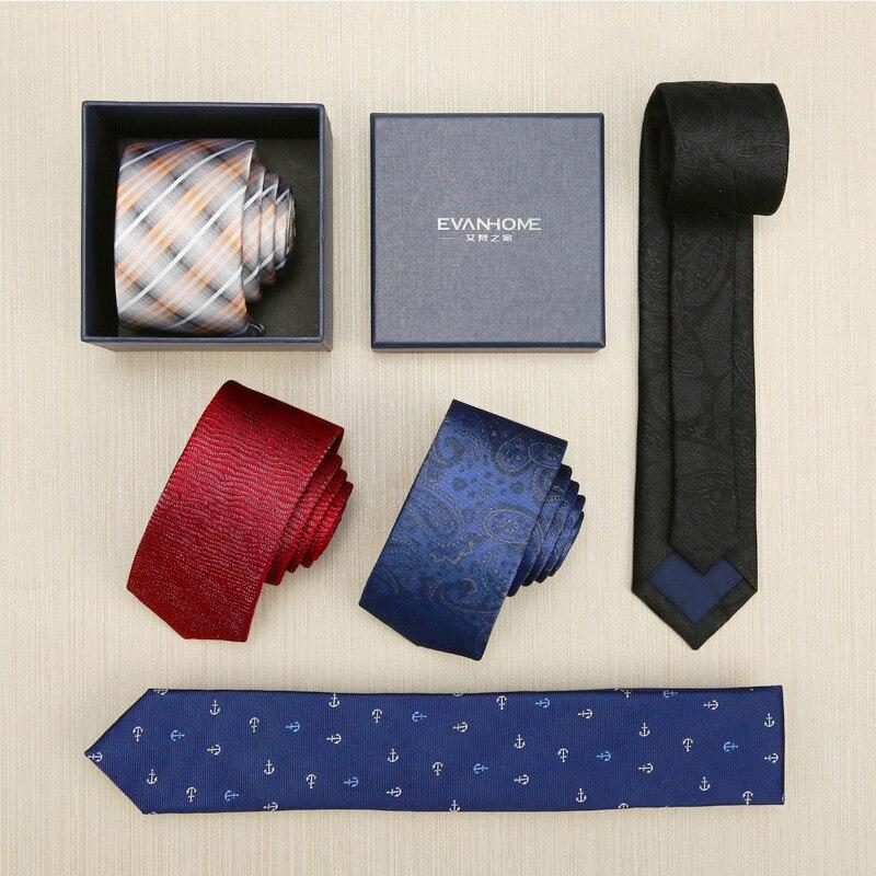 Mens Ties Jacquard Gravatas Solid Black Fashion Striped Neck Tie Business Ties For Men New Onesize Slim Fit Neck Tie DaZS5513