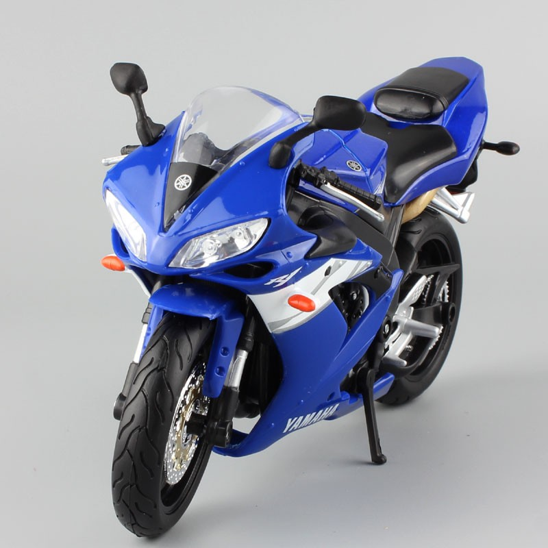 Yamaha Supercross YZF R1 Model Toy Motorcycle 8