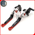 Motorcycle Accessories Adjustable Folding Extendable Brake Clutch Levers fits for MV AGUSTA Brutale 675 800