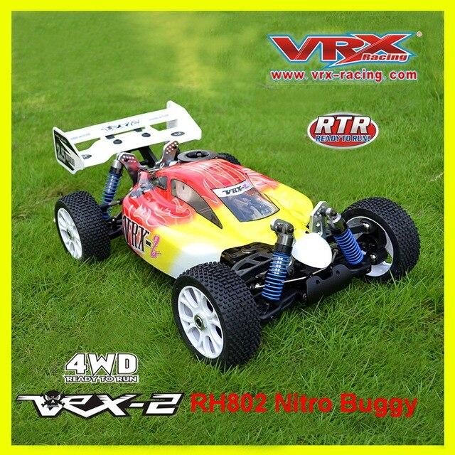 RC 오프로드 VRX 레이싱 RH802 VRX 2 1/8 니트로 RTR 4WD 버기, Force.21 니트로 엔진 원격 제어 니트로 완구 자동차, 니트로 파워