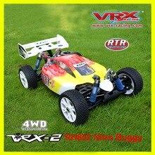 RC off road VRX Corse RH802 VRX 2 1/8 nitro RTR 4WD buggy, force.21 nitro motore nitro telecomando giocattoli auto, nitro potenza