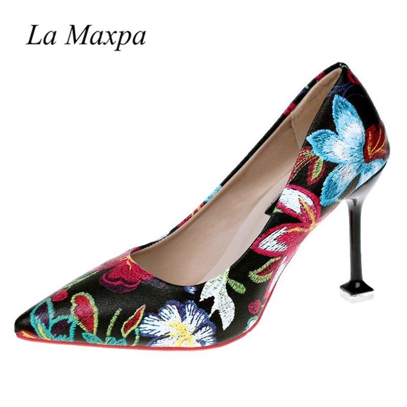 La MaxPa Women Shoes Red Sole Shoes