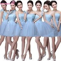 Junior economici ice blue elegante damigelle ragazze natural abiti pageant sweetheart abito da damigella d'onore per la cerimonia nuziale guest B3384