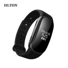 HLTON 8G przenośny cyfrowy dyktafon Stereo nagrywanie dźwięku inteligentna bransoletka zegarek krokomierz kalorii HiFi Loseless odtwarzacz MP3