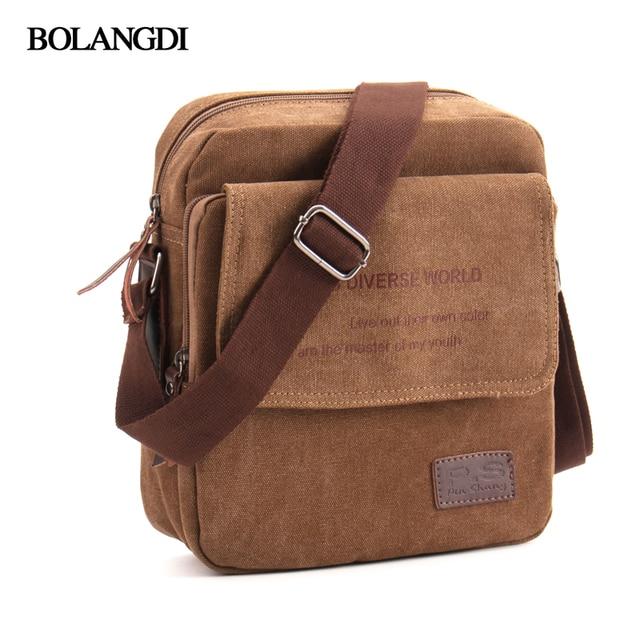 Hot Sale 2019 BLD Brand Men Casual Messenger Bag High Quality Canvas  Shoulder Bags For men Business Travel Crossbody Bag 603c3bd111863