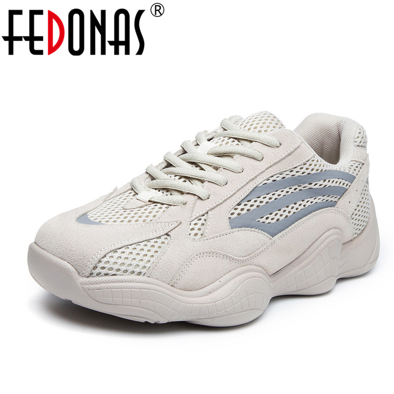 FEDONAS Fashion Brand Women Cow   Suede     Leather   Sneakers Sexy Corss-tied Flats Platforms Spring Summer Sport Shoes Woman Flats